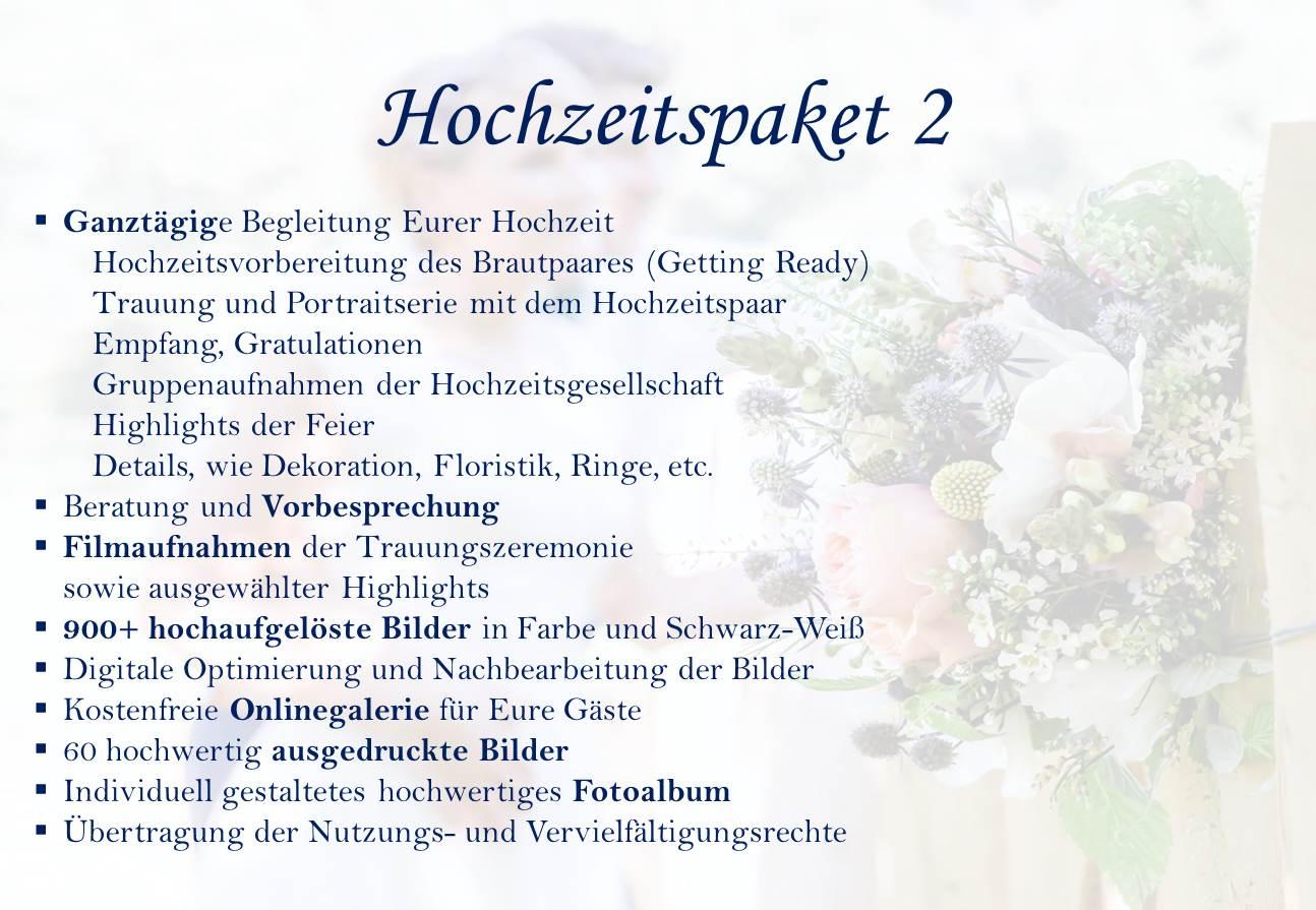 Hochzeitspaket 2