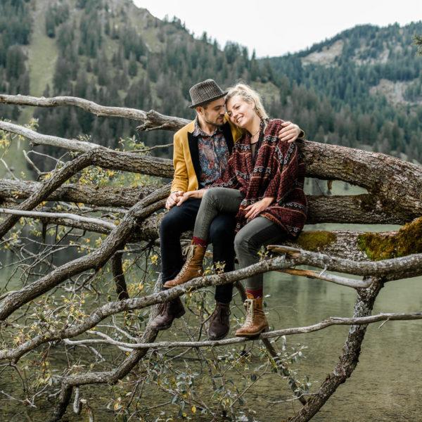 Julie & Jonas. Mitten in den Bergen.